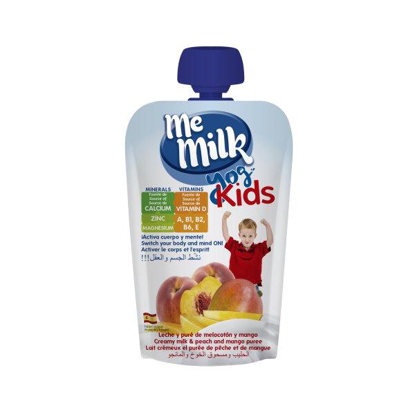 MeMilk - Yog Kids Doy Pack - Melocotón y Mango 100gr