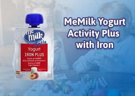 MeMilk YOGURT ACTIVITY PLUS with IRON and VITAMIN C